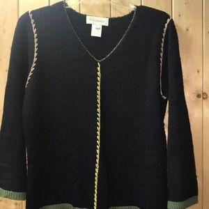 Susan Bristol Black sweater M